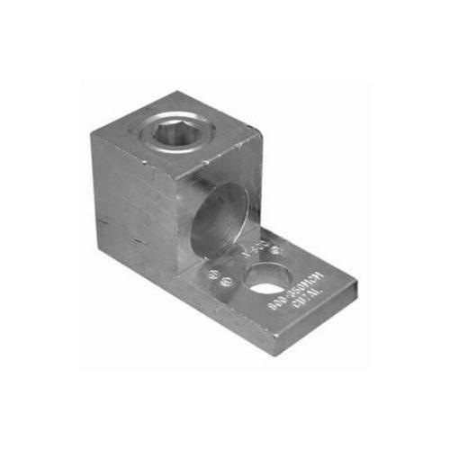 Morris 90720 Aluminum Mechanical Lugs One Conductor - One Hole Mount 250MCM-#6 Awg