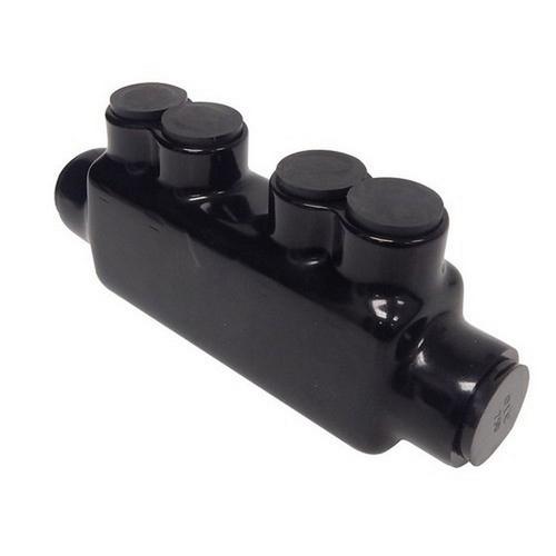 Morris 97028 Black Insulated In-Line Splice 4 Set Screws 750 - 250