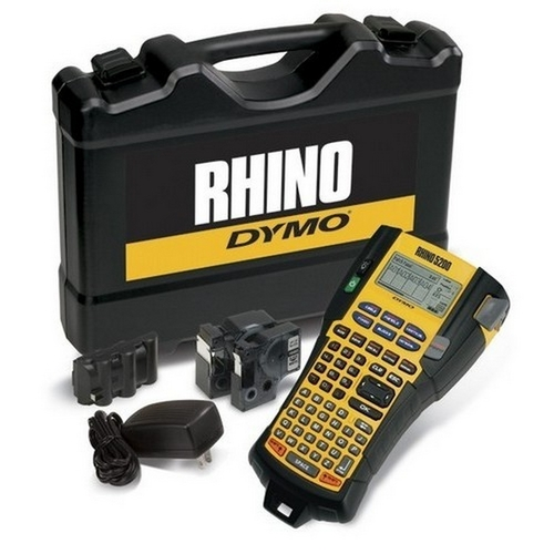 Morris D1756589 DYMO Rhino Industrial 5200 Series Hand Held Printer Kit