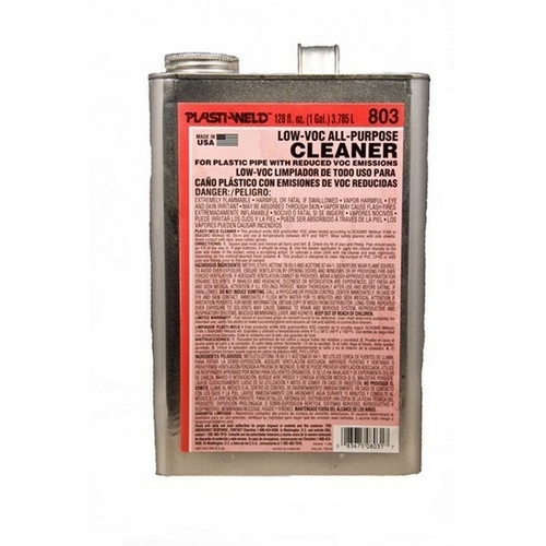Morris G80324 Gallon Clear Cleaners 803 Series