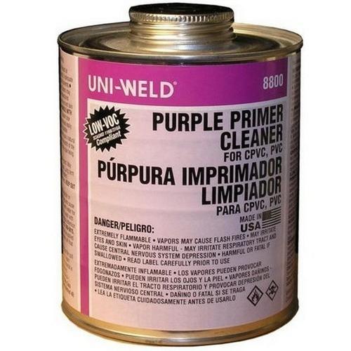 Morris G8836S Quart Purple Primer/Cleaner 8800 Series
