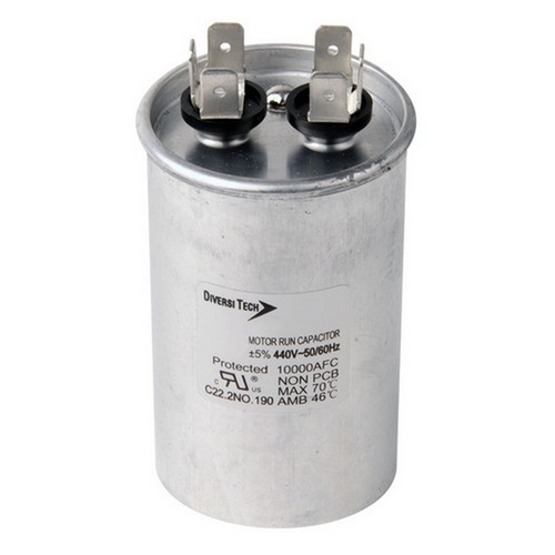 Morris T45200R Motor Run Capacitors Single Capacitance Round Can - 440 VAC 20 uf