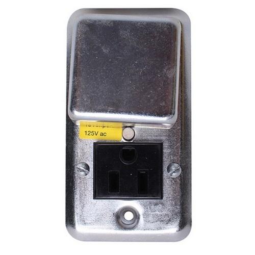 Morris T620-6082 Fuse Box/Cover Unit - Receptacle/Fuse Combo