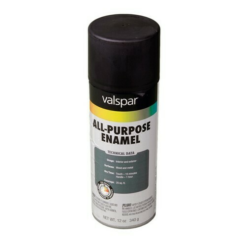 Morris T799-002 General Purpose Spray Paint Flat Black