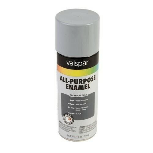 Morris T799-005 General Purpose Spray Paint Dark Machinery Gray