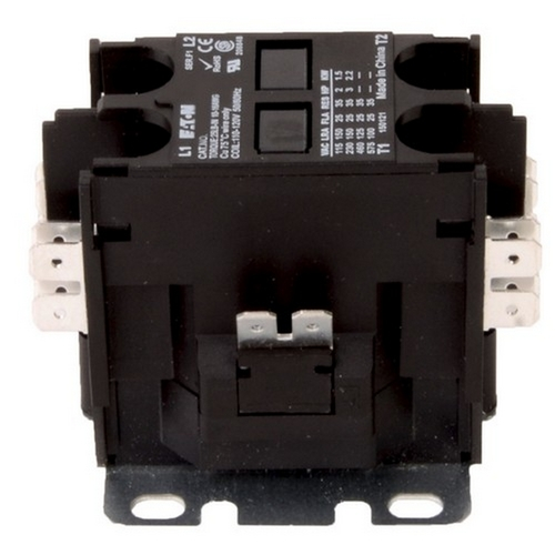 Morris TDPE40224 Eaton 2 Pole Definite Purpose Contactors 40A 24V Coil