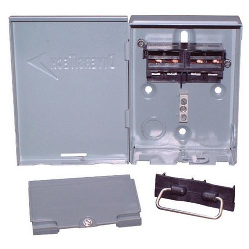 Morris TEDS-60U Low-Profile Disconnects - Metal Case 60A Non-Fusible