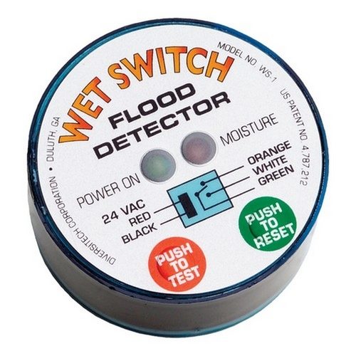 Morris TWS-1 Wet Switch Flood Detector Hockey Puck Hockey Puck