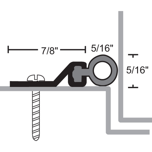 NGP 160V-84 National Guard Products Weatherstrip