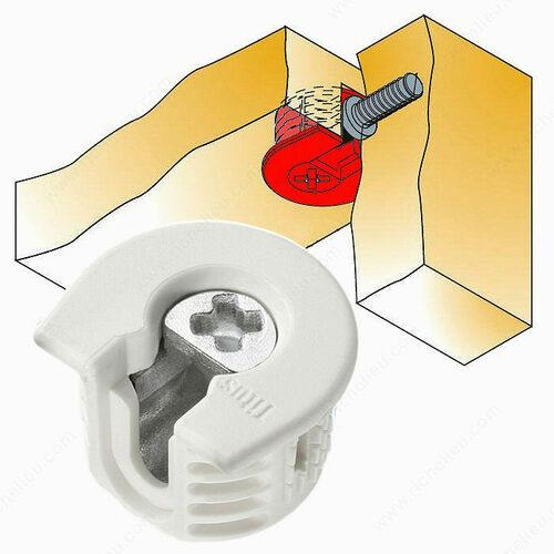 Richelieu 643330 Knock-in Housing Non-Outrigger Drop-In