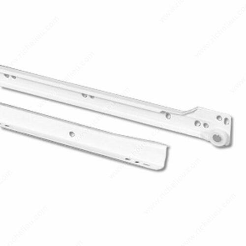 Richelieu TP10250030 Series 102 Euro Slide 3/4 Extension - 35 kg (75 lb) Capacity