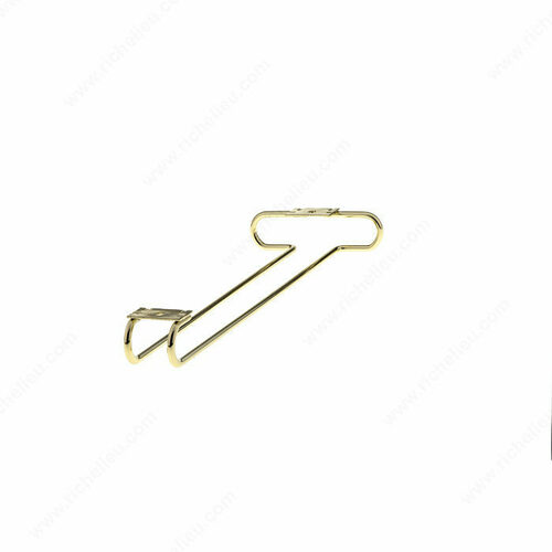 Richelieu 88007130 Metal Single Opening Stemware Holder