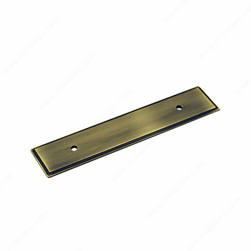 Richelieu BP104596AE Transitional Metal Backplate for Pull - 1045