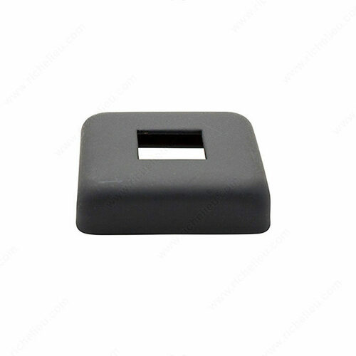 Richelieu WEBSO1213110 Cover shoe, square profile to use with baluster CC12-30