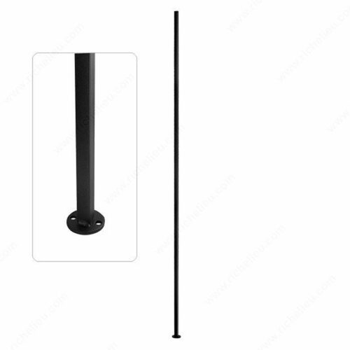 Richelieu WEBSO1213109 CC12 - Square Tube Spindles with Disc