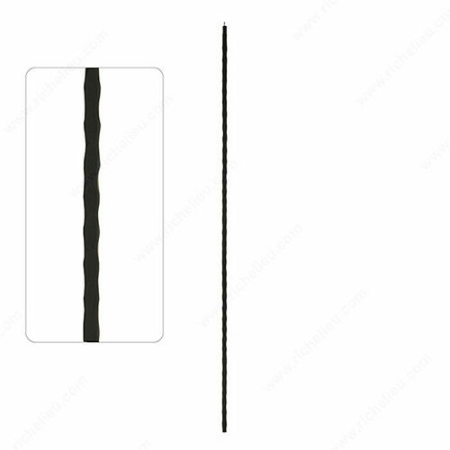 Richelieu WEBSO1214408 TL200 - Square Tube Spindles, Hammered