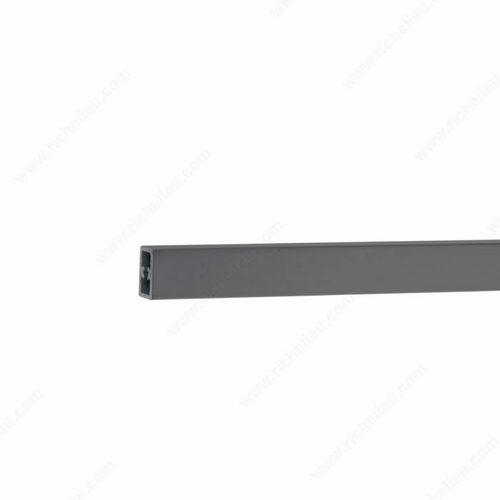 Richelieu 8081200900 Rectangular Front Rail for OPTIMIZ-R Inner Drawer
