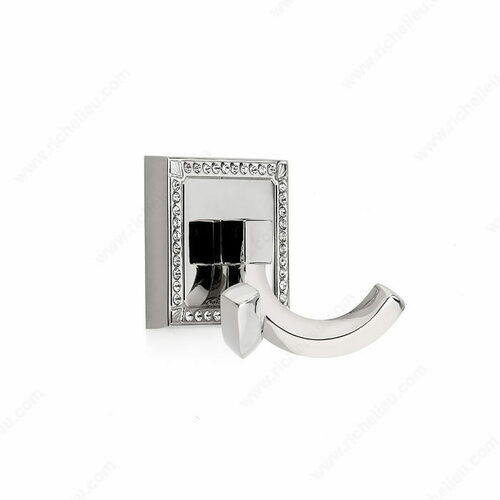 Richelieu NH7802180 Transitional Metal and Crystal Hook - 7802
