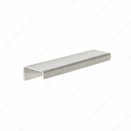 Richelieu BP57606170A Contemporary Aluminum Edge Pull - 576