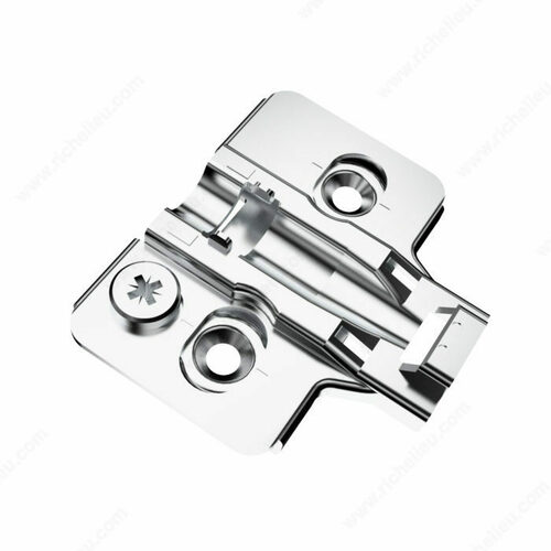 Richelieu RCS00520 RCS Mounting Plates - Screw-in with Eccentric Adjustment