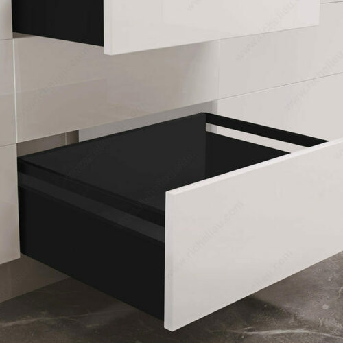 Richelieu WEBKIT1225288 OPTIMIZ-R Set for Drawers with Gallery Rails - 185 mm
