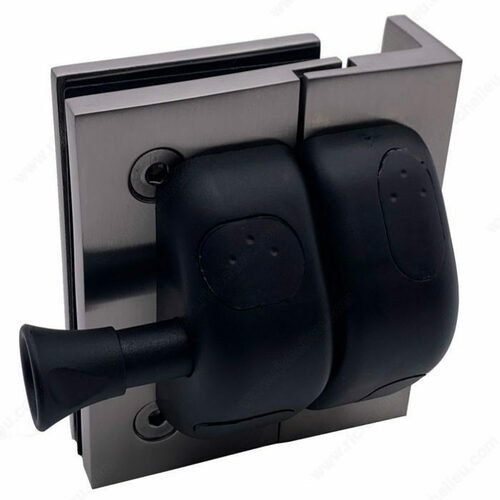 Richelieu PGLSQPG170 90 Square Post-to-Glass Pool Gate Latch