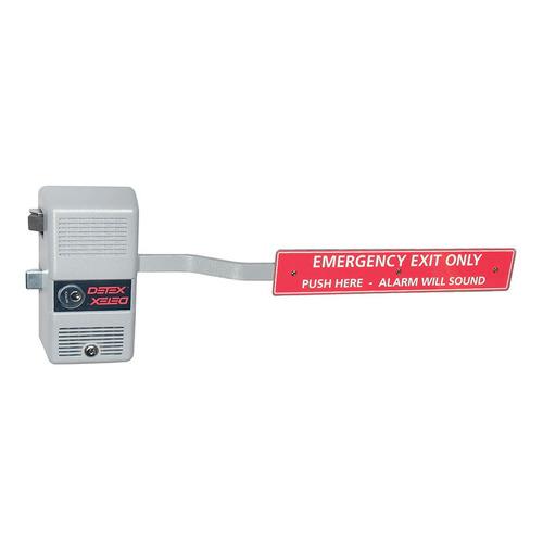 Detex ECL-600 GRAY W-CYL KA DTXECL-600 W-CYL Exit Device