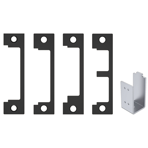 HES 1DB BSP 1DB BLK Faceplate