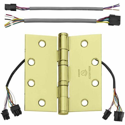 McKinney TA2714 4-1/2X4-1/2 3 QC12 TA2714 4-1/2x4-1/2 3 QC12 Electrified Hinge