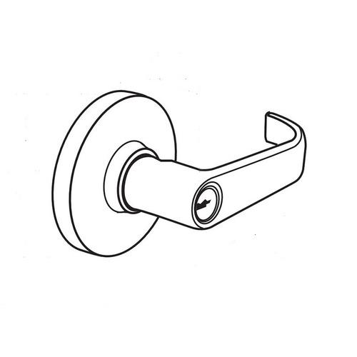 Arrow Lock RL17BRR 10 Cylindrical Lock