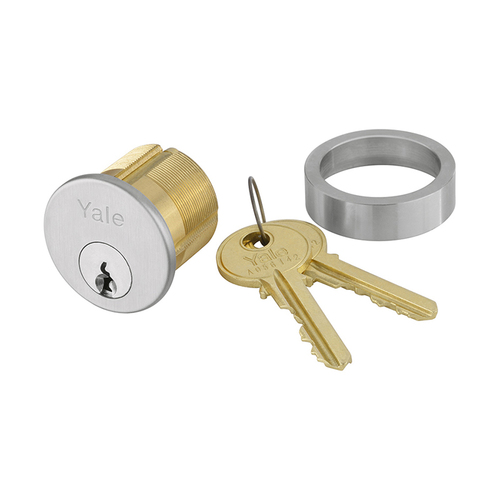 Yale 2153 6 TA 118 626 0 BITTED Mortise Cylinder