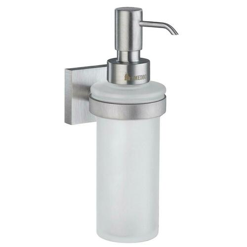 Smedbo RS369 Wall Mounted Soap Dispenser, Brushed Chrome