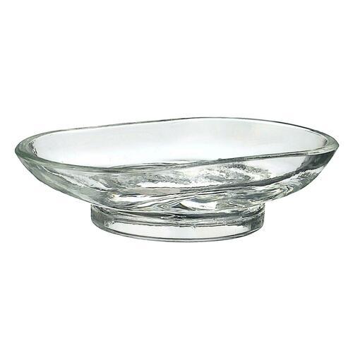 Smedbo V248G Spare Glass Soapdish Only