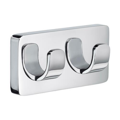 Smedbo OK356 Double Towel Hook, Polished Chrome