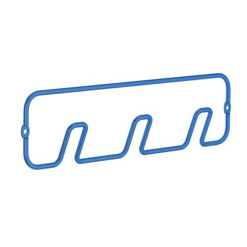 Smedbo BL1301 Triple Hook, Blue