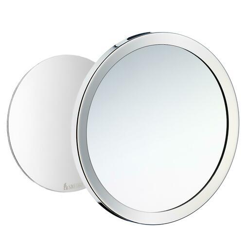 Smedbo FK442 Shaving Make Up Mirror/Magnet, Polished Chrome