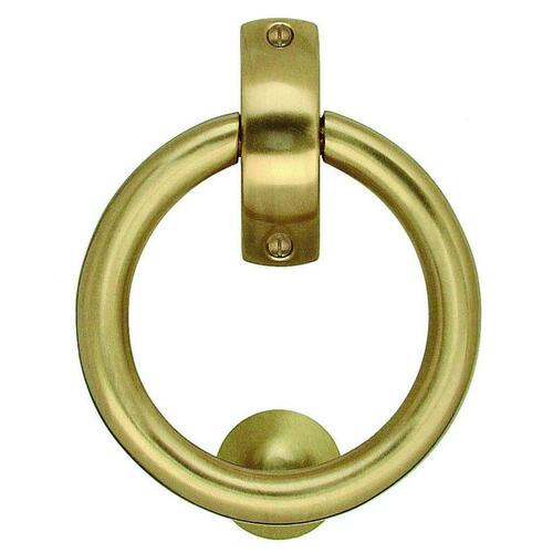 Smedbo B098M Door Knocker, Bright Brass