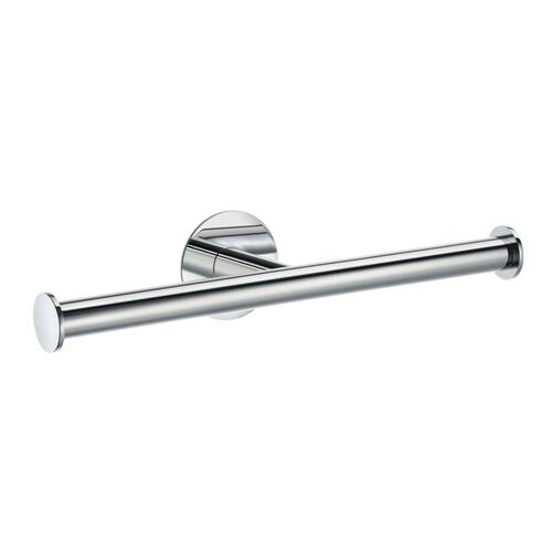 Smedbo YK320 Spare Double Toilet Roll Holder, Polished Chrome