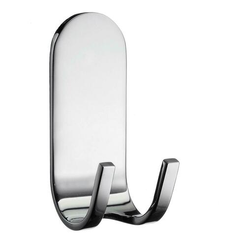 Smedbo DK2112 Adhesive Holder for Razor and Towels, Polished Chrome