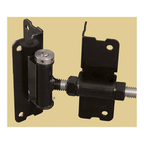 Snug Cottage 3100-BPSS Black Adjustable Self-Closing Hinge for Aluminum Gates