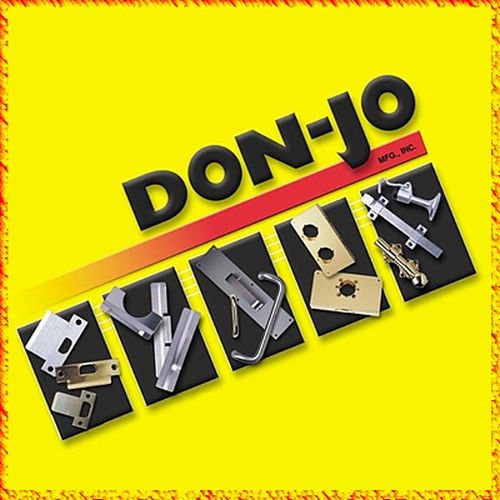 Don-Jo 8-32X3/4-BP Bagged Combo Screws Brass Plated Finish