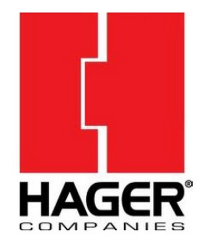 Hager 127S28 Push Bar Aluminum Finish