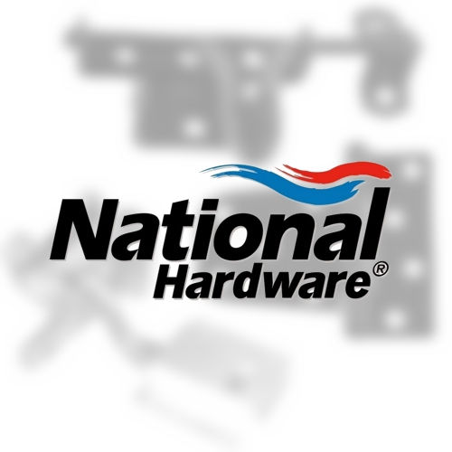 National Hardware N187092 V1072 Sliding Door Hardware Single Floor Guide Oil Rubbed Bronze Finish Must be Purchased in Multiples of 2