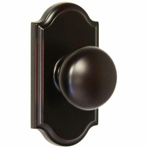 Weslock 01700I1I1SL20 Impresa Premiere Passage Lock with Adjustable Latch and Full Lip Strike Oil Rubbed Bronze Finish