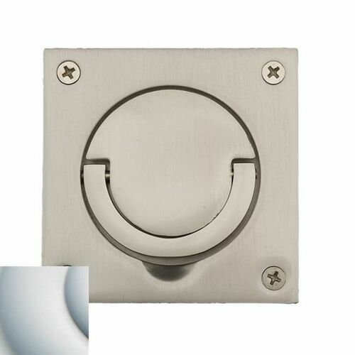 Baldwin 0397264 Ring Pull Satin Chrome Finish