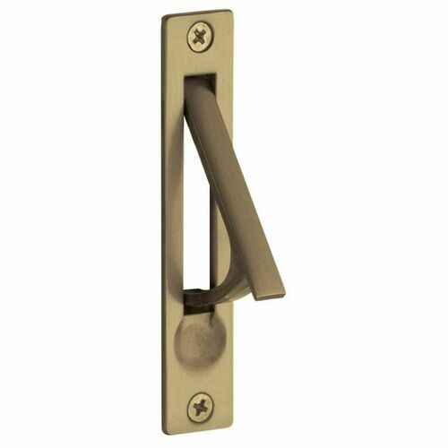 Baldwin 0465050 Edge Pull Antique Brass Finish
