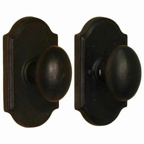 Weslock 07110M2M2SL20 Durham Premiere Privacy Lock with Adjustable Latch and Full Lip Strike Black Finish