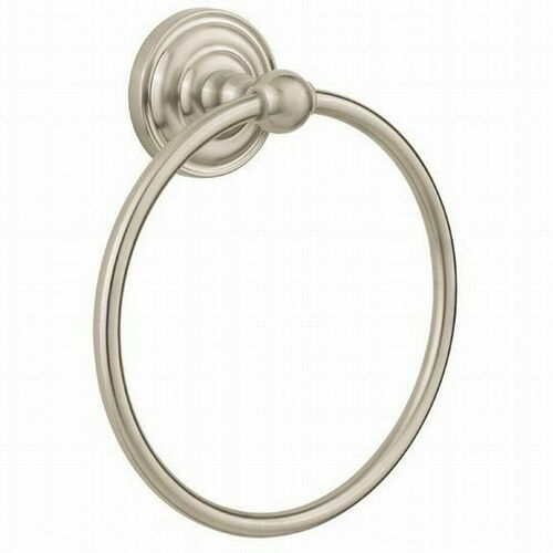 Kwikset 080RDB-15 Redmond Towel Ring Satin Nickel Finish