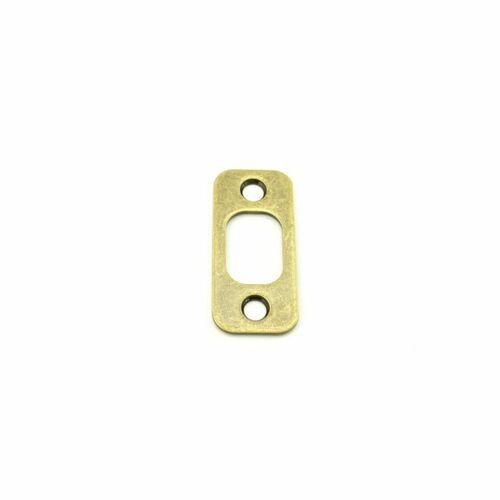 Dexter 10103609 Radius Deadbolt Strike Antique Brass Finish
