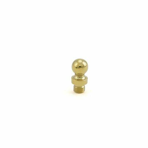 Baldwin 1080003I Ball Tip for Radius Corner Hinge (2/SET) Lifetime Brass Finish